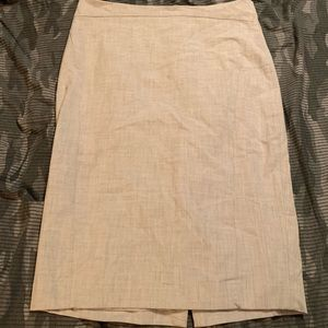 The Limited Pencil Skirt Gray